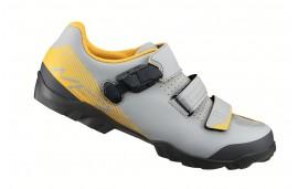 Zapatillas Shimano ME3 MTB gris amarillo