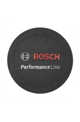 Tapa con logotipo Performance Line, negro
