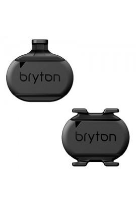 PACK de sensores cadencia y velocidad ANT+/BLE Bryton
