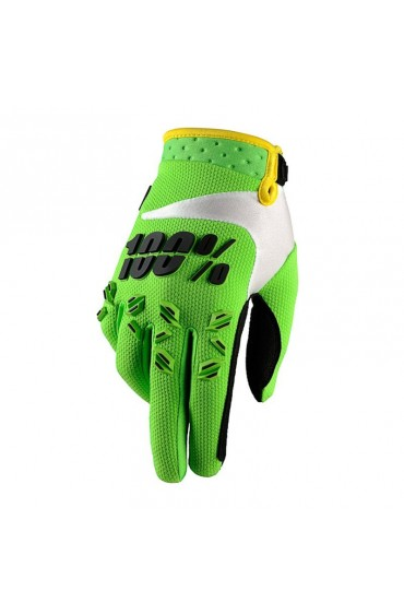GUANTES 100% AIRMATIC (LIME GREEN)