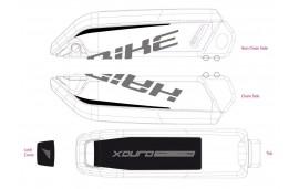 Pegatina E-Bike Xduro,para batería